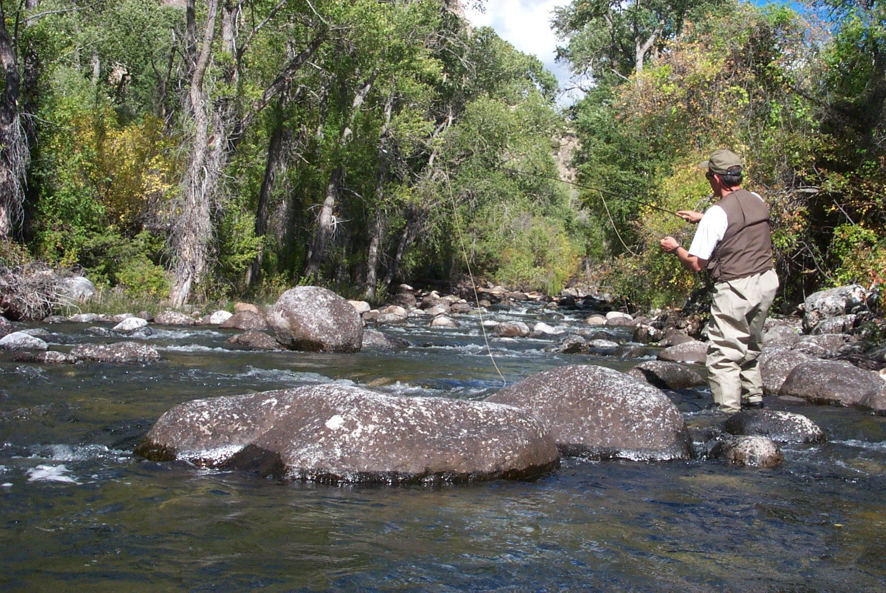 Wyoming game and fish department tensleep creek for Wyoming game and fish maps