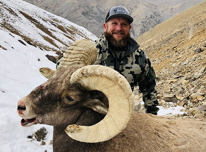 2018 Bighorn Sheep Winner