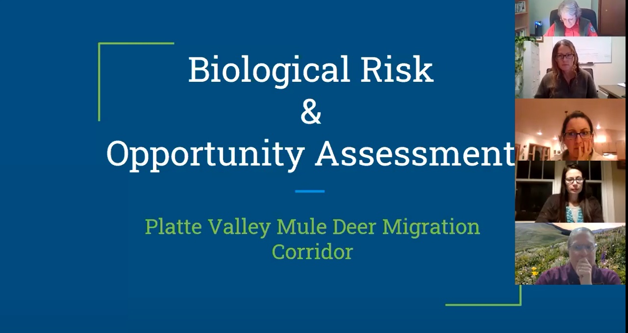 Platte Valley Biological Risk and Opportunity Assessment