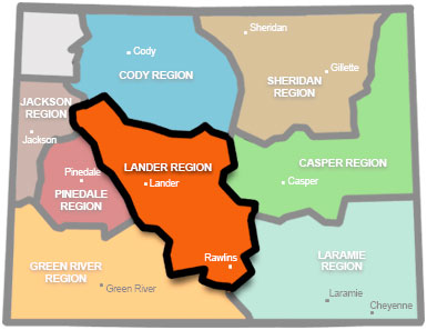 Wyoming game and fish department lander region for Wyoming game and fish license