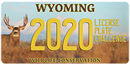 Wildlife Conservation license plate