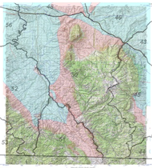 Wyoming game and fish department customized hunting maps for Wyoming game and fish regulations