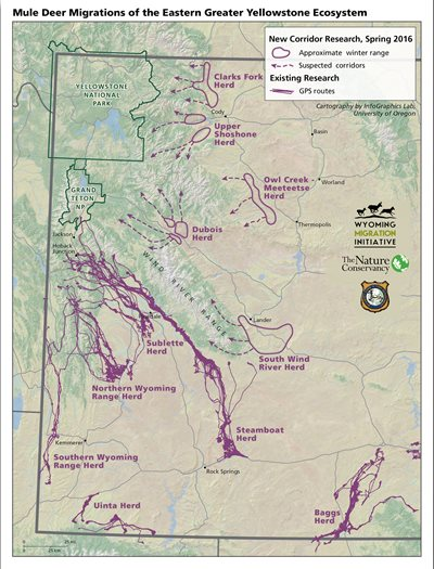 Wyoming game and fish department biologists to launch for Wyoming game and fish maps