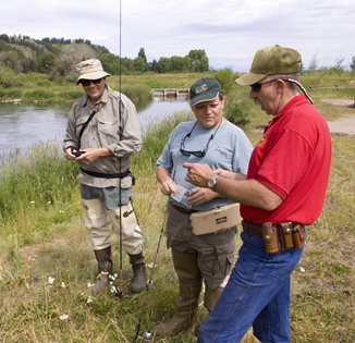 Wyoming game and fish department afton game warden is for Wildlife fish and game