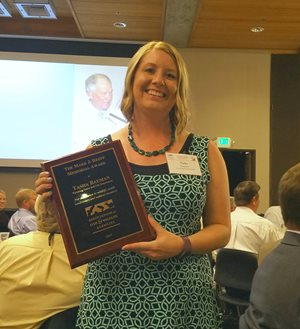 Wyoming Game And Fish Department Game And Fish Forensic Analyst Receives National Conservation Award
