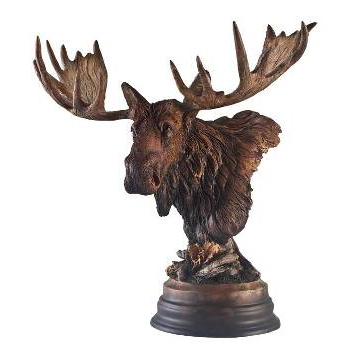 Sculpture Twig-Eater Moose