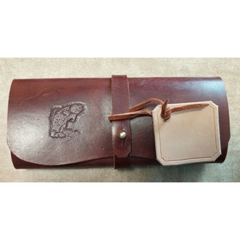 Tri Fold Leather Fly Wallet