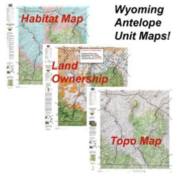 Antelope Hunt Paper Maps