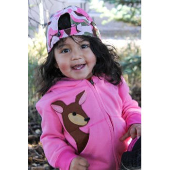 Toddler Fawn Hoody