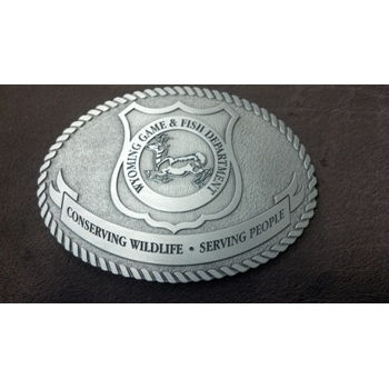 Employee Pewter Belt Buckle